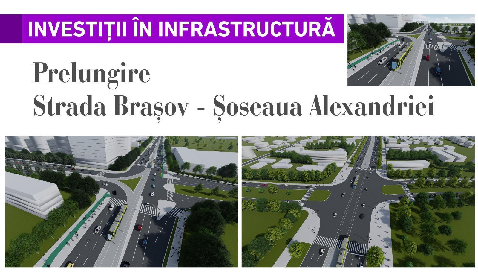 Prelungire Strada Brașov - Șoseaua Alexandriei