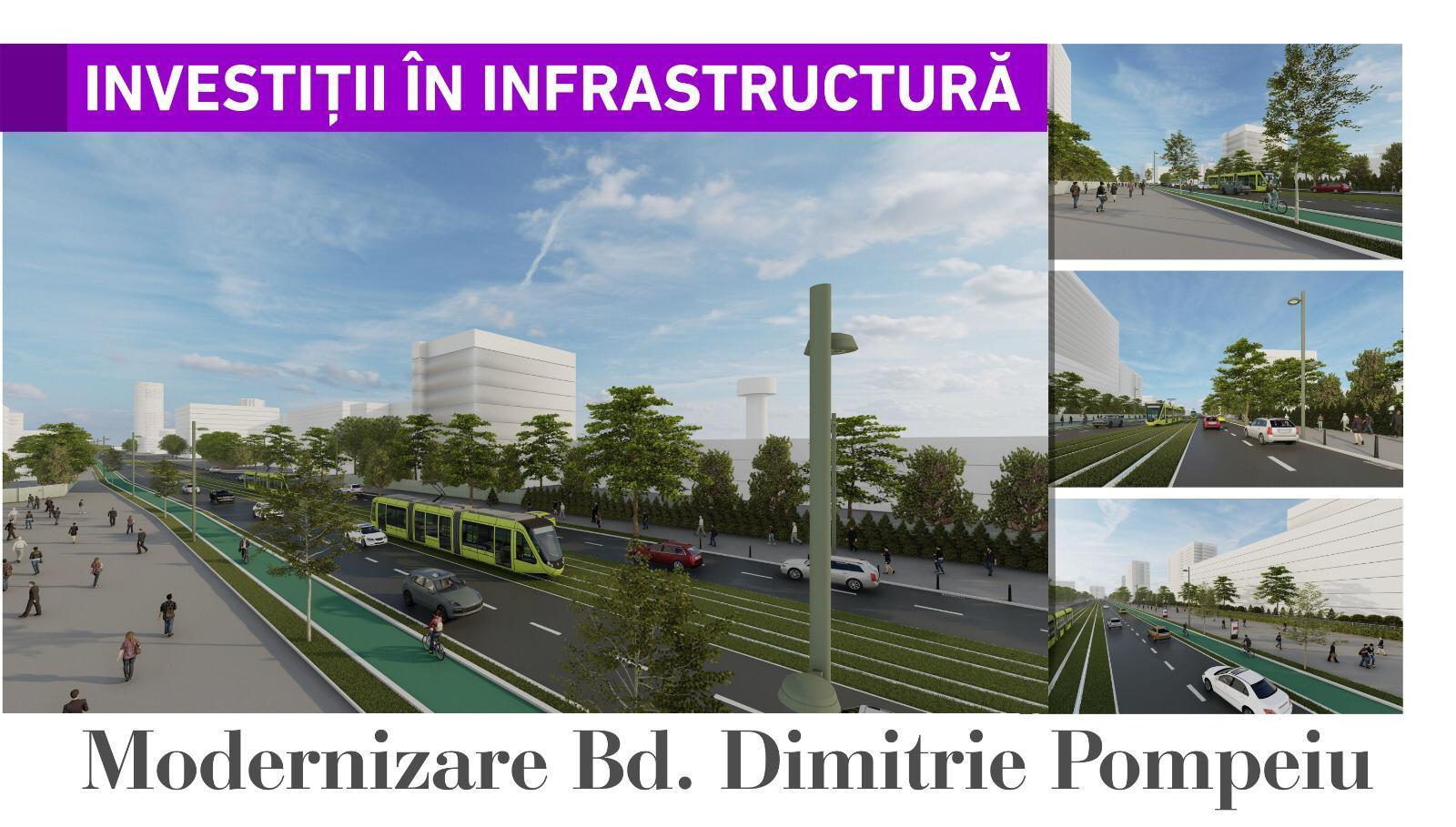 Modernizare Bd. Dimitrie Pompeiu