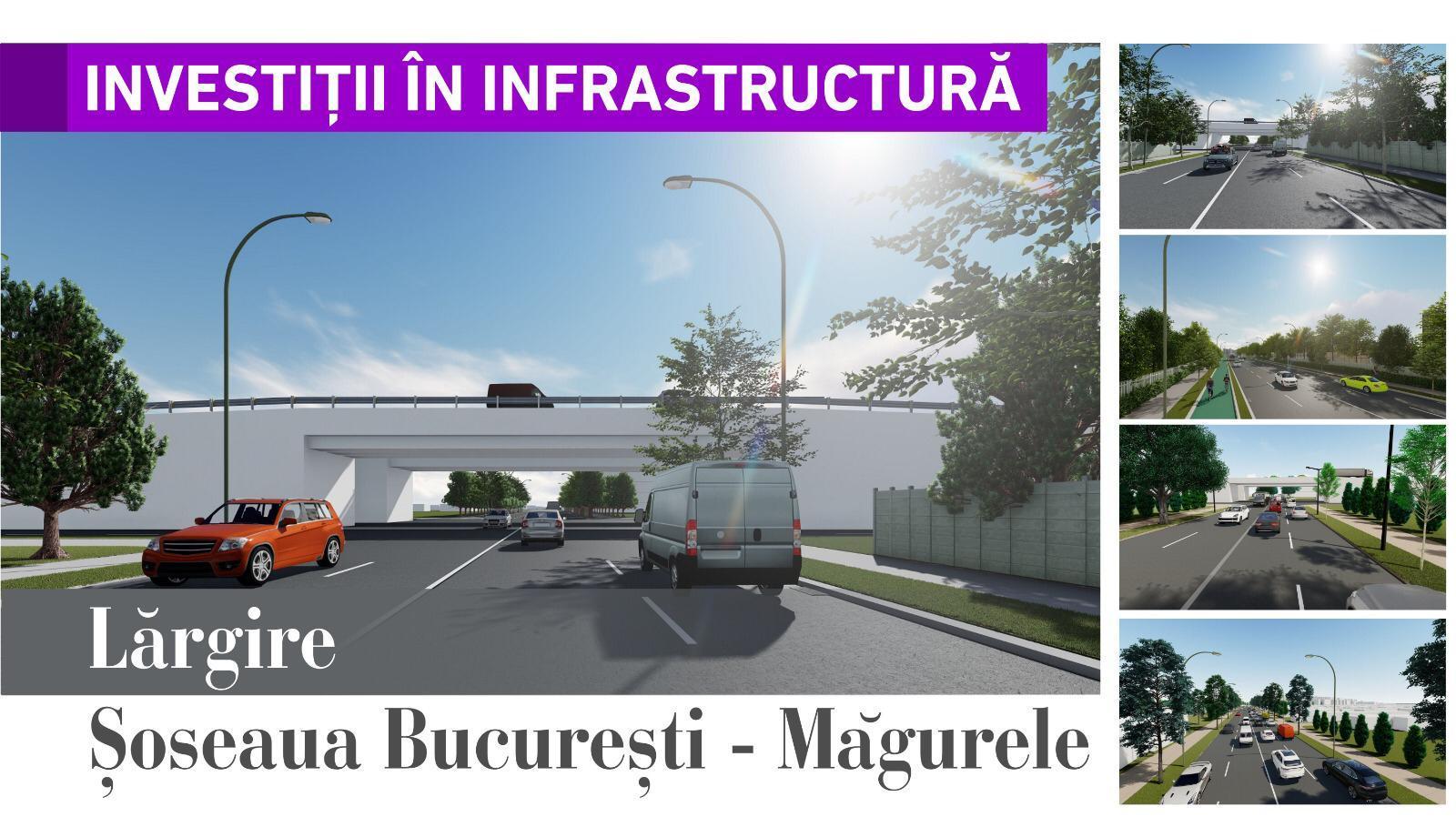Lărgire Șoseaua București – Măgurele